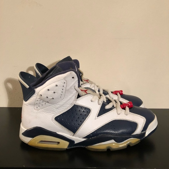 brand new 81190 d11e2 Jordan Other - AIR JORDAN 6 RETRO OLYMPIC 2012 384664-130 SIZE 8